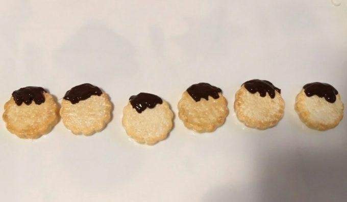 とろーりチョコクッキー